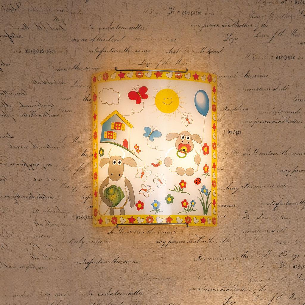 Настенный светильник Citilux Барашки CL922016, 2xE27x100W, хром, разноцветный, металл, стекло - фото 3