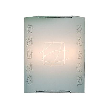 Настенный светильник Citilux Дина CL922021, 2xE27x100W, хром, белый, металл, стекло