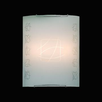 Настенный светильник Citilux Дина CL922021, 2xE27x100W, хром, белый, металл, стекло - миниатюра 2