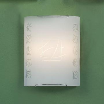 Настенный светильник Citilux Дина CL922021, 2xE27x100W, хром, белый, металл, стекло - миниатюра 3