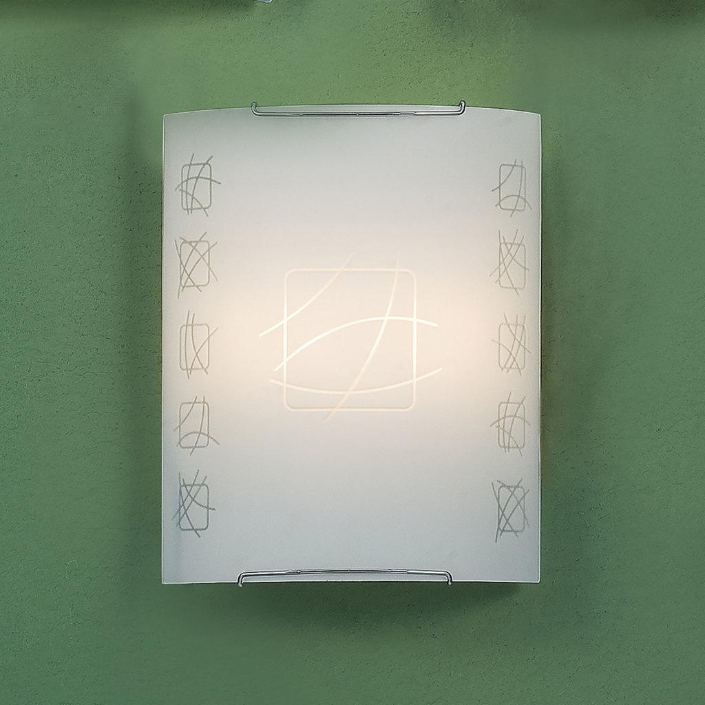 Настенный светильник Citilux Дина CL922021, 2xE27x100W, хром, белый, металл, стекло - фото 3