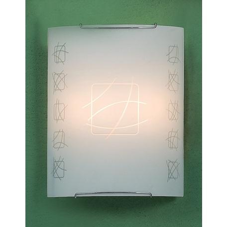 Настенный светильник Citilux Дина CL922021W, 2xE27x100W, хром, металл, стекло - миниатюра 1