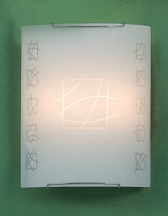 Настенный светильник Citilux Дина CL922021W, 2xE27x100W, хром, металл, стекло - фото 1
