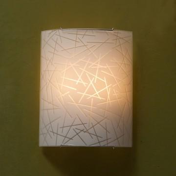 Настенный светильник Citilux Крона CL922061, 2xE27x100W, хром, белый, металл, стекло - миниатюра 3