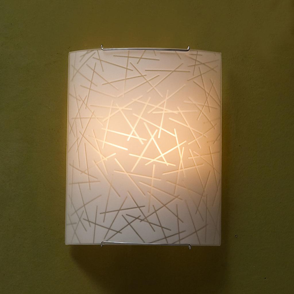 Настенный светильник Citilux Крона CL922061, 2xE27x100W, хром, белый, металл, стекло - фото 3