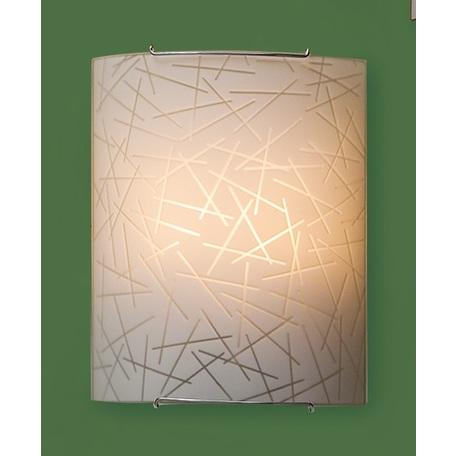 Настенный светильник Citilux Крона CL922061W, 2xE27x100W, хром, металл, стекло