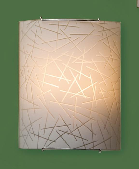 Настенный светильник Citilux Крона CL922061W, 2xE27x100W, хром, металл, стекло - фото 1