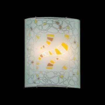 Настенный светильник Citilux Пляж CL922091, 2xE27x100W, хром, разноцветный, металл, стекло - миниатюра 2
