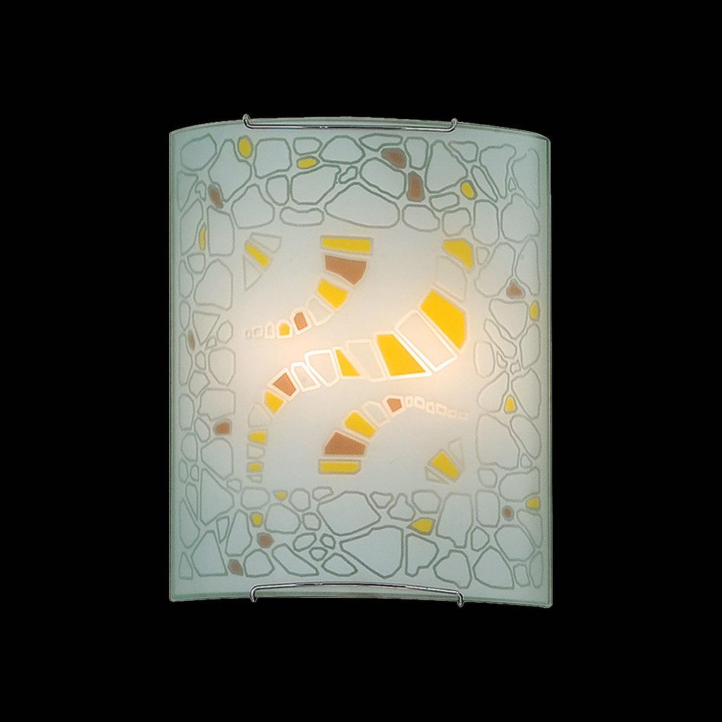 Настенный светильник Citilux Пляж CL922091, 2xE27x100W, хром, разноцветный, металл, стекло - фото 2