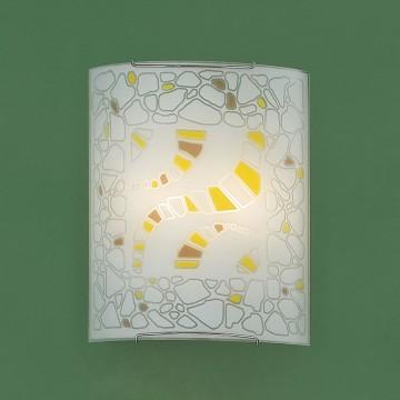 Настенный светильник Citilux Пляж CL922091, 2xE27x100W, хром, разноцветный, металл, стекло - миниатюра 3