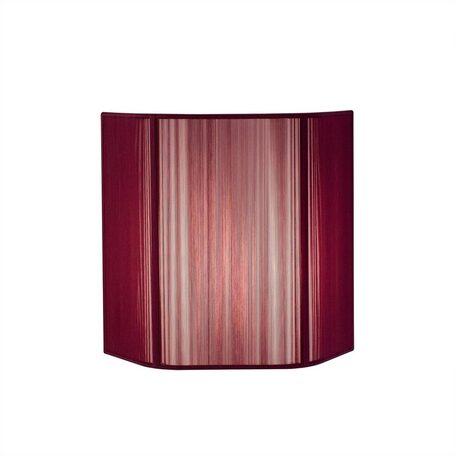 Настенный светильник Citilux CL923, CL936 CL923012, 1xE14x60W, хром, фиолетовый, металл, текстиль - миниатюра 1