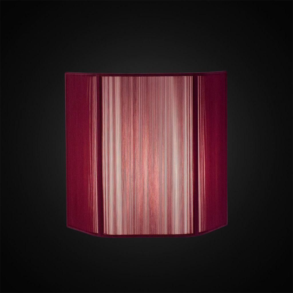 Настенный светильник Citilux CL923, CL936 CL923012, 1xE14x60W, хром, фиолетовый, металл, текстиль - фото 2