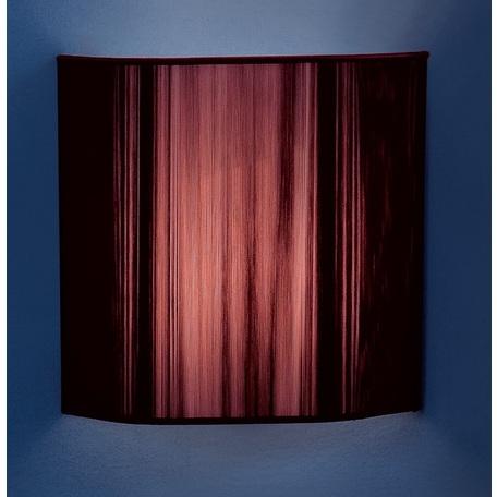 Настенный светильник Citilux CL923, CL936 CL923012W, 1xE14x60W, хром, фиолетовый, металл, текстиль