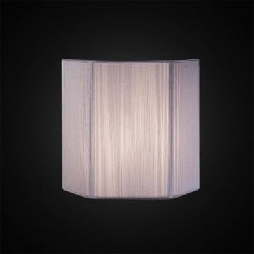 Настенный светильник Citilux CL923, CL936 CL923013, 1xE14x60W, серебро, металл, текстиль - миниатюра 2