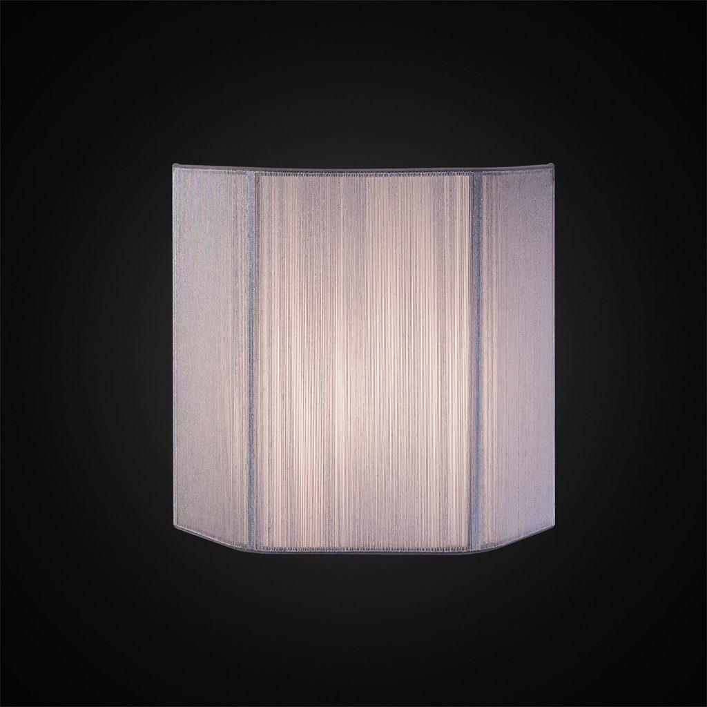 Настенный светильник Citilux CL923, CL936 CL923013, 1xE14x60W, серебро, металл, текстиль - фото 2
