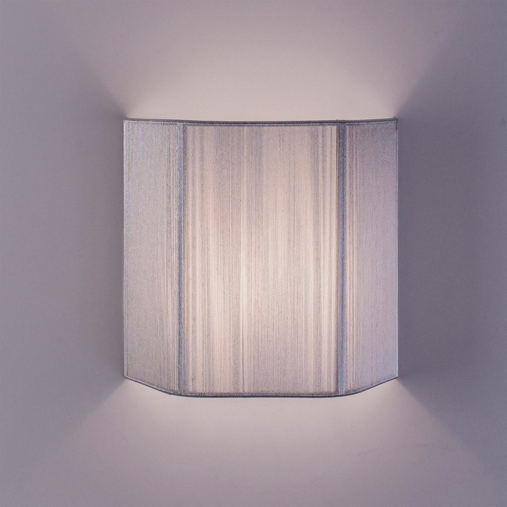 Настенный светильник Citilux CL923, CL936 CL923013, 1xE14x60W, серебро, металл, текстиль - фото 3