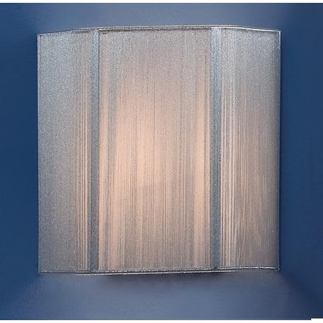 Настенный светильник Citilux CL923, CL936 CL923013W, 1xE14x60W, серебро, металл, текстиль