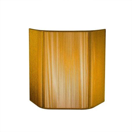 Настенный светильник Citilux CL923, CL936 CL923017, 1xE14x60W, хром, золото, металл, текстиль