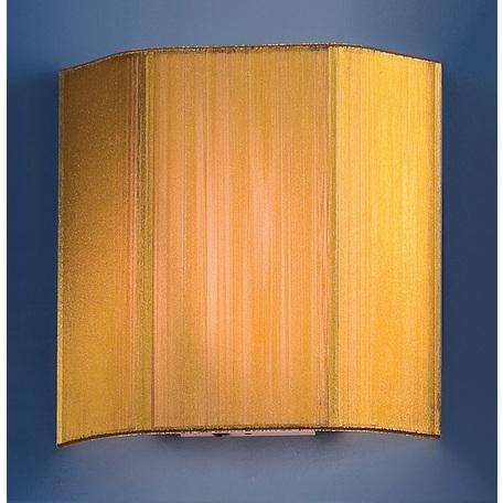 Настенный светильник Citilux CL923, CL936 CL923017W, 1xE14x60W, хром, золото, металл, текстиль