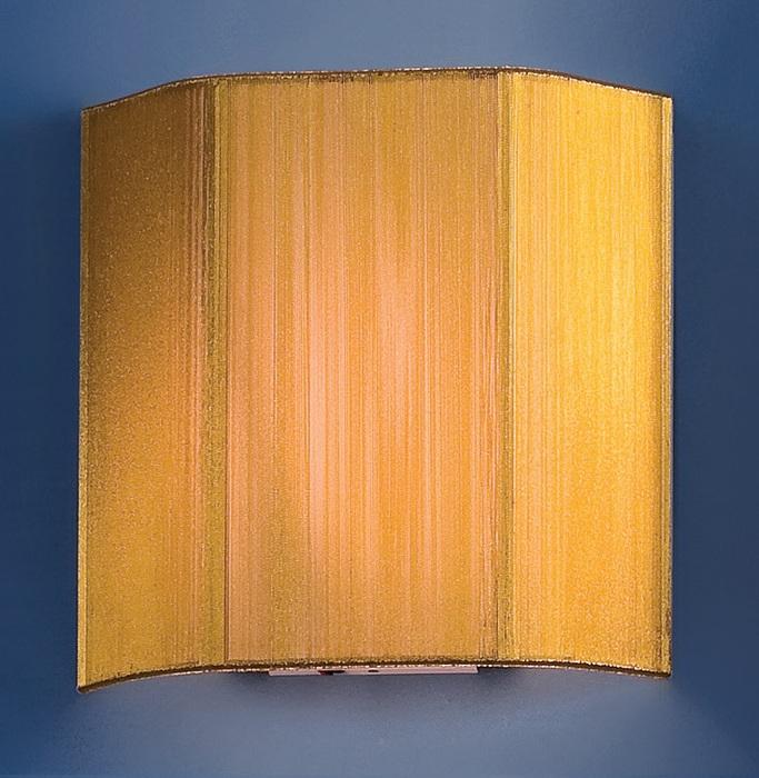 Настенный светильник Citilux CL923, CL936 CL923017W, 1xE14x60W, хром, золото, металл, текстиль - фото 1