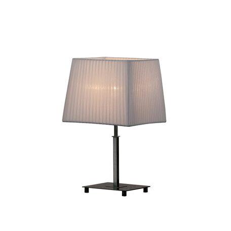 Настольная лампа Citilux Гофре CL914811, 1xE27x75W, хром, белый, металл, текстиль