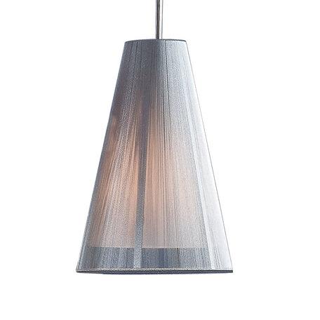 Подвесной светильник Citilux CL923, CL936 CL936003, 1xE27x75W, серебро, металл, текстиль