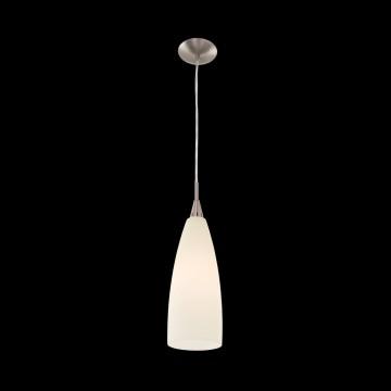 Подвесной светильник Citilux Бокал CL942013, 1xE27x100W, матовый хром, бежевый, металл, стекло - миниатюра 2