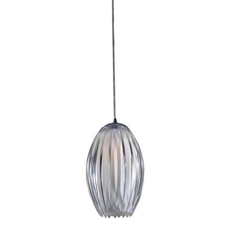 Подвесной светильник Citilux Октопус CL944000, 1xE27x40W, хром, белый, прозрачный, металл, стекло