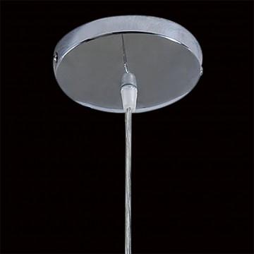 Подвесной светильник Citilux Октопус CL944000, 1xE27x40W, хром, белый, прозрачный, металл, стекло - миниатюра 5