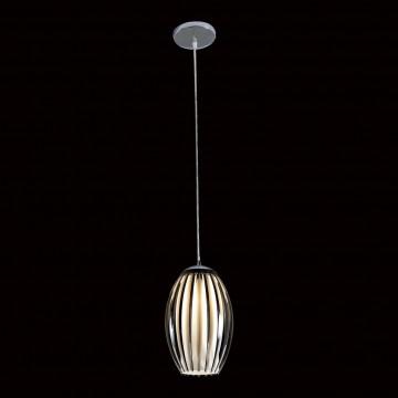 Подвесной светильник Citilux Октопус CL944001, 1xE27x40W, хром, черный, металл, стекло - миниатюра 2