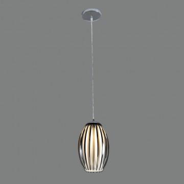 Подвесной светильник Citilux Октопус CL944001, 1xE27x40W, хром, черный, металл, стекло - миниатюра 3