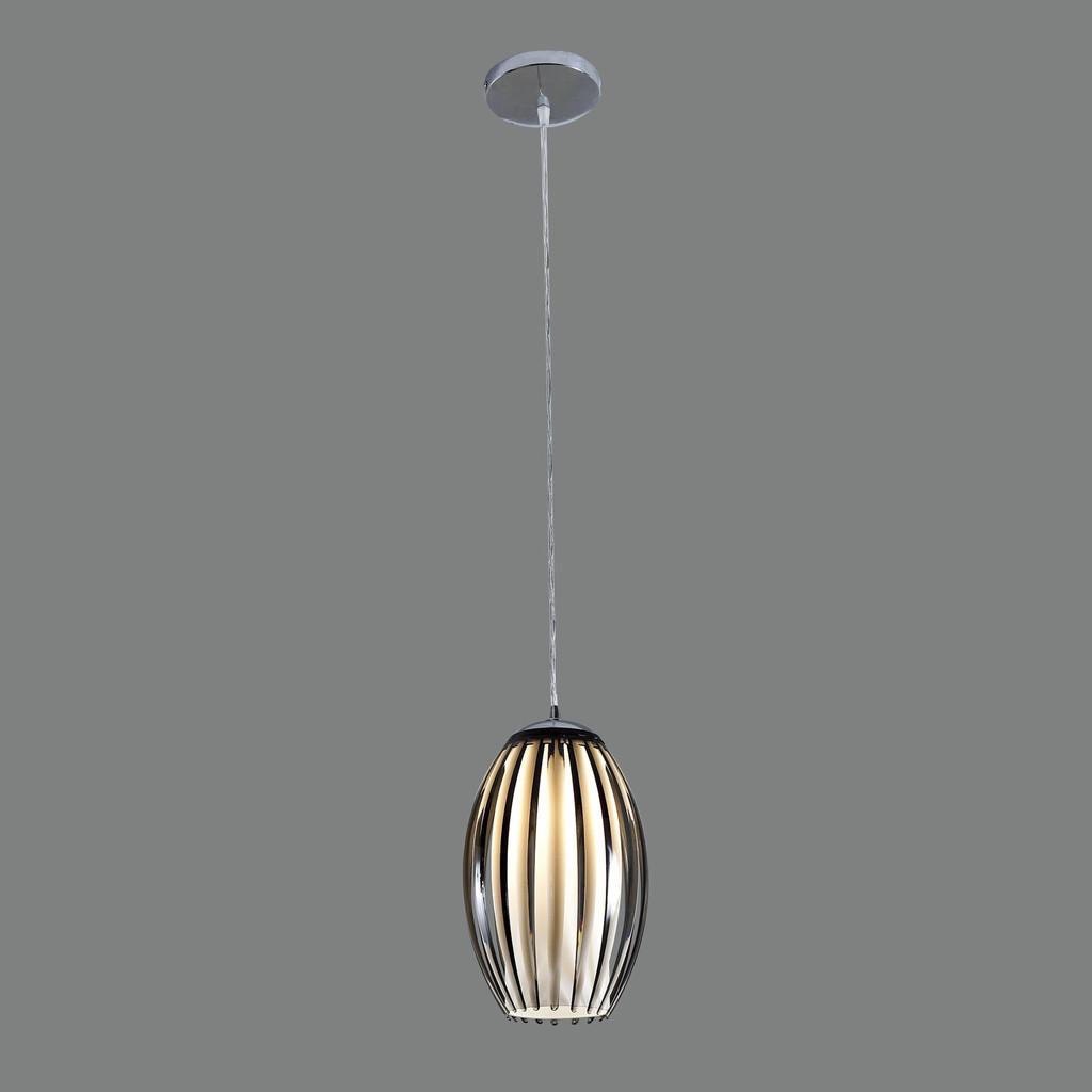 Подвесной светильник Citilux Октопус CL944001, 1xE27x40W, хром, черный, металл, стекло - фото 3