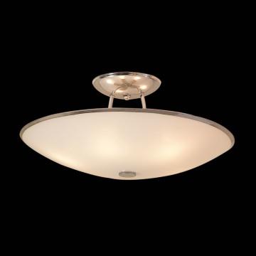 Потолочная люстра Citilux CL911102, 5xE27x75W, хром, белый, металл, стекло - миниатюра 2