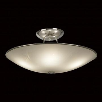 Потолочная люстра Citilux Лайн CL911103, 5xE27x75W, хром, белый, металл, стекло - миниатюра 2