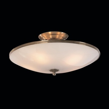 Потолочная люстра Citilux CL912100, 5xE27x75W, бронза, белый, металл, стекло - миниатюра 2