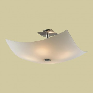 Потолочная люстра Citilux Лайн CL937111, 4xE27x100W, хром, белый, металл, стекло - миниатюра 3