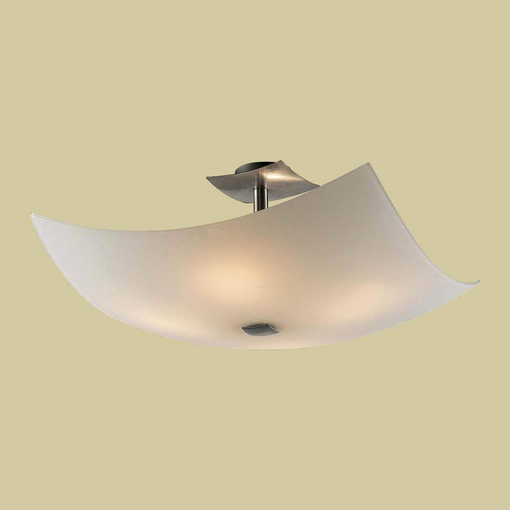 Потолочная люстра Citilux Лайн CL937111, 4xE27x100W, хром, белый, металл, стекло - фото 3