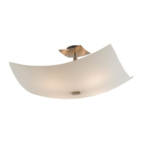 Потолочная люстра Citilux Лайн CL937311, 4xE27x100W, бронза, белый, металл, стекло