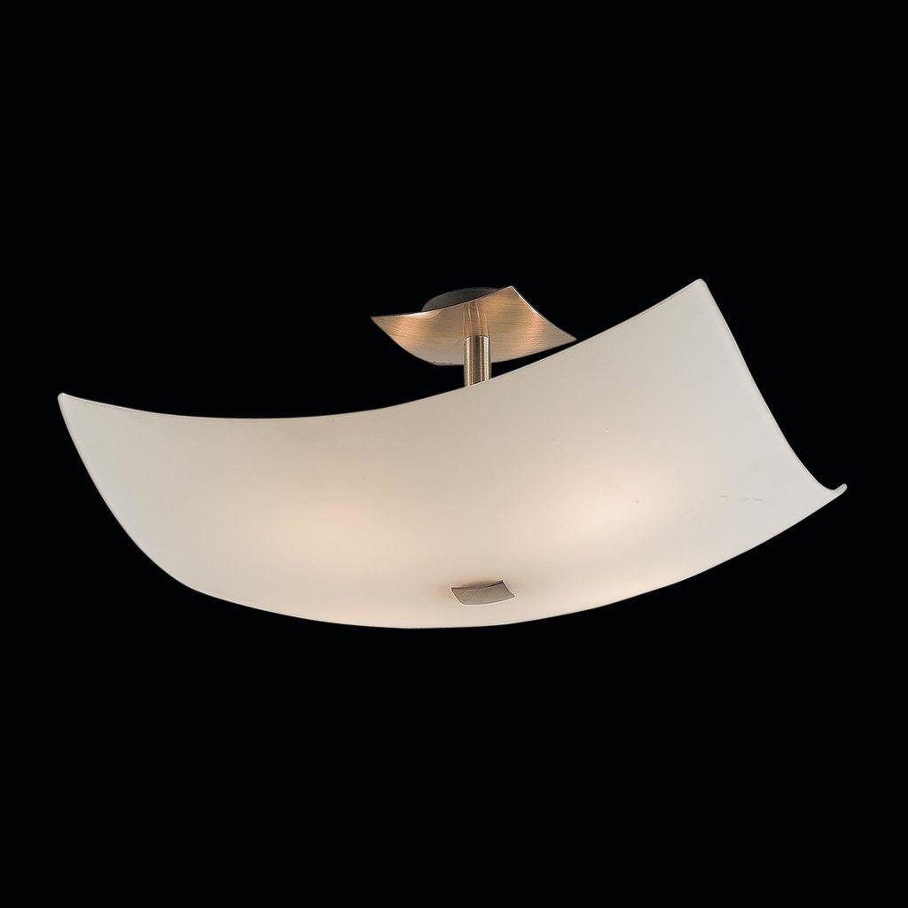 Потолочная люстра Citilux Лайн CL937311, 4xE27x100W, бронза, белый, металл, стекло - фото 2