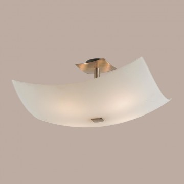 Потолочная люстра Citilux Лайн CL937311, 4xE27x100W, бронза, белый, металл, стекло - миниатюра 3