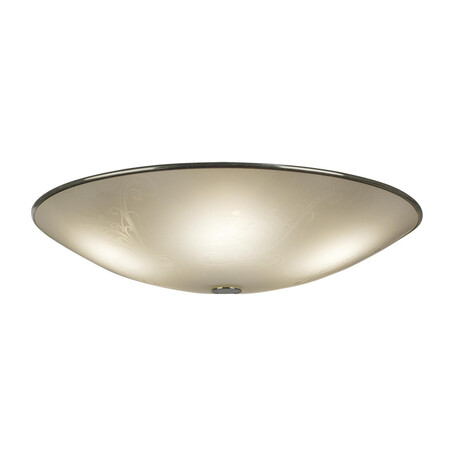 Потолочный светильник Citilux Лайн CL911503, 5xE27x75W, хром, белый, металл, стекло