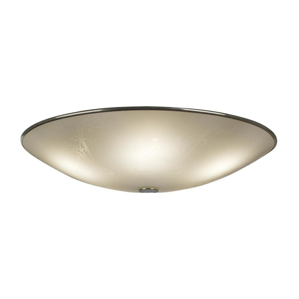 Потолочный светильник Citilux Лайн CL911503, 5xE27x75W, хром, белый, металл, стекло - фото 1