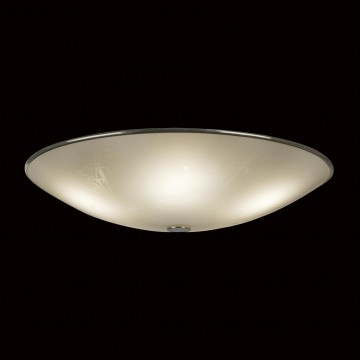Потолочный светильник Citilux Лайн CL911503, 5xE27x75W, хром, белый, металл, стекло - миниатюра 2