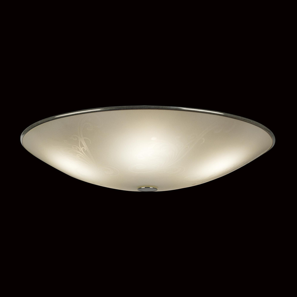 Потолочный светильник Citilux Лайн CL911503, 5xE27x75W, хром, белый, металл, стекло - фото 2