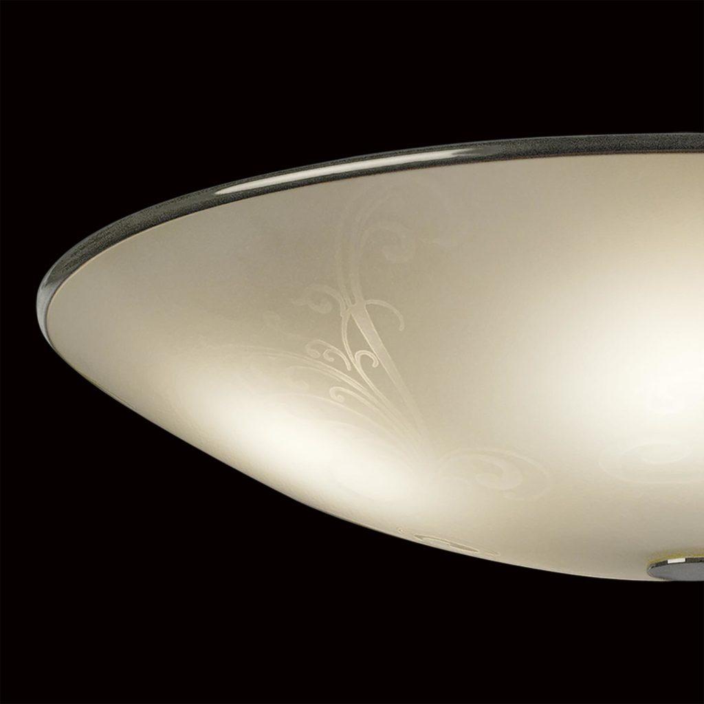 Потолочный светильник Citilux Лайн CL911503, 5xE27x75W, хром, белый, металл, стекло - фото 4