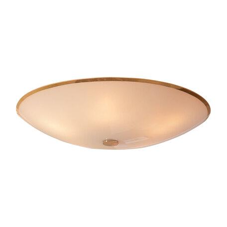 Потолочный светильник Citilux Лайн CL911602, 5xE27x75W, золото, белый, металл, стекло