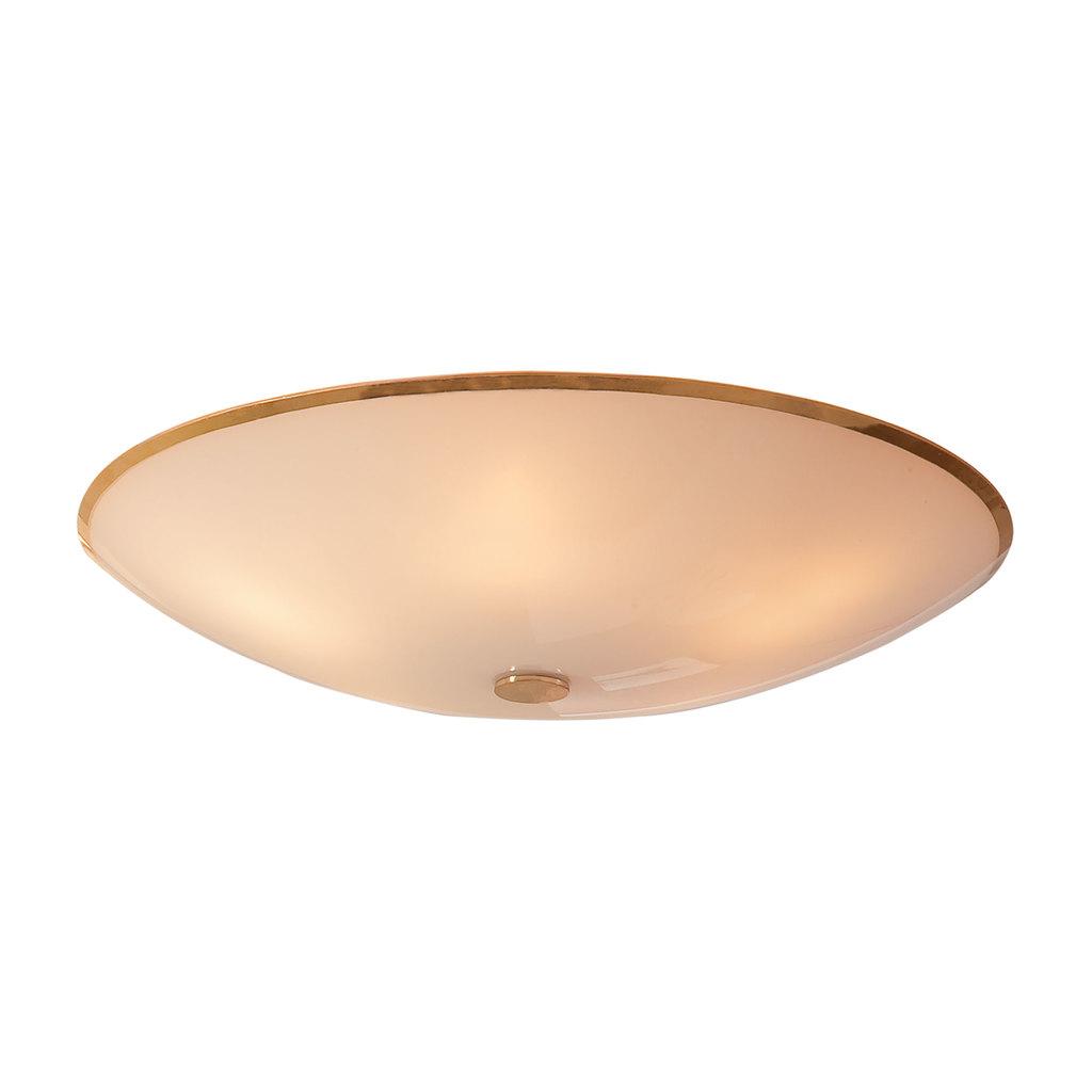 Потолочный светильник Citilux Лайн CL911602, 5xE27x75W, золото, белый, металл, стекло - фото 1