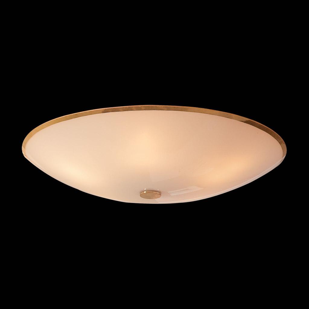 Потолочный светильник Citilux Лайн CL911602, 5xE27x75W, золото, белый, металл, стекло - фото 2