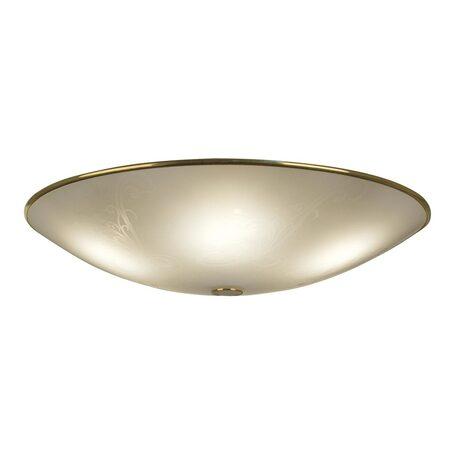 Потолочный светильник Citilux Лайн CL911603, 5xE27x75W, золото, белый, металл, стекло