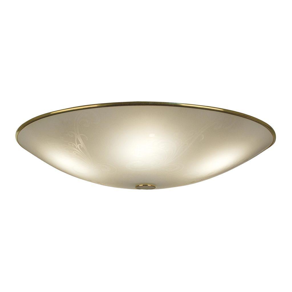 Потолочный светильник Citilux Лайн CL911603, 5xE27x75W, золото, белый, металл, стекло - фото 1